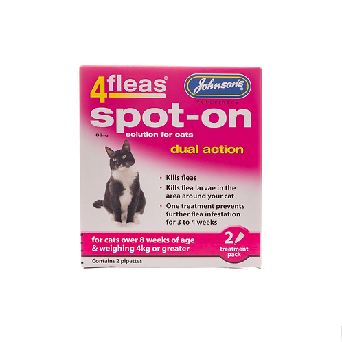 4fleas Spot-on for Cats over 4kg