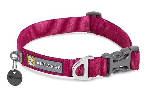 RUFFWEAR FRONT RANGE™ DOG COLLAR Hibiscus Pink.
