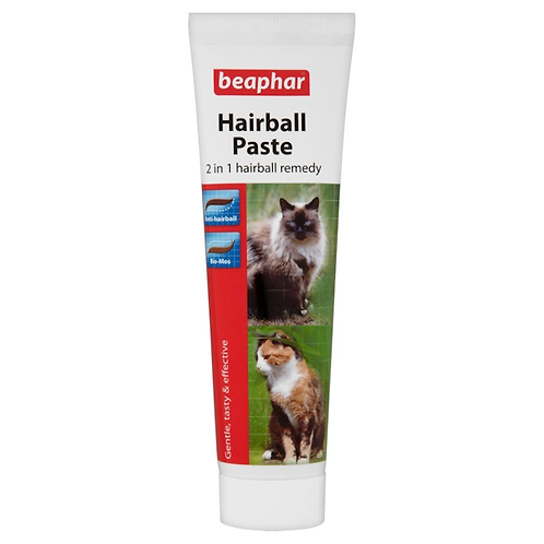 Beaphar 2-in-1 Hairball Remedy 100g
