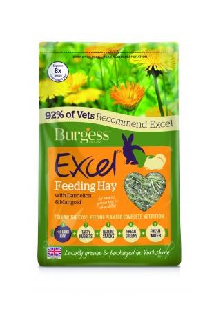 EXCEL FEEDING HAY WITH DANDELION & MARIGOLD 1kg