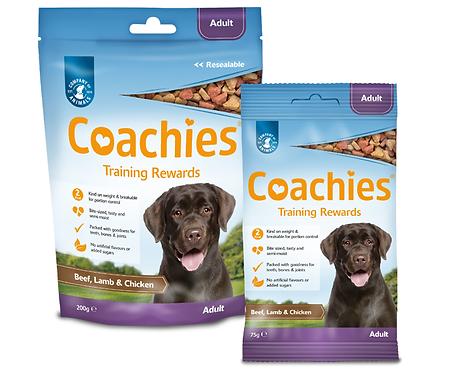 Coachies Adult Training Rewards