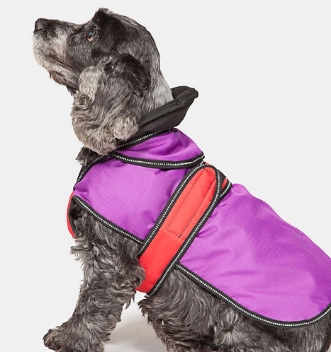 The Ultimate 2 in 1 Dog Coat Purple. Price from