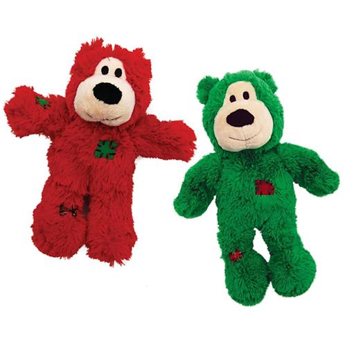 Kong Holiday Wild Knot Bear Small/Medium