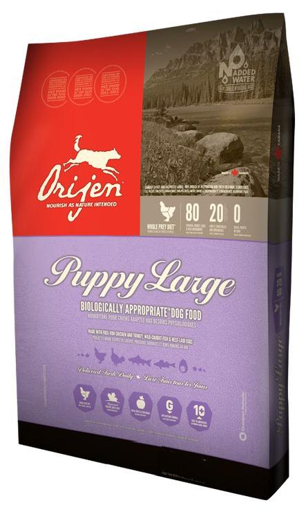 Orijen Large Breed Puppy Food  6kg, 11.4kg price from
