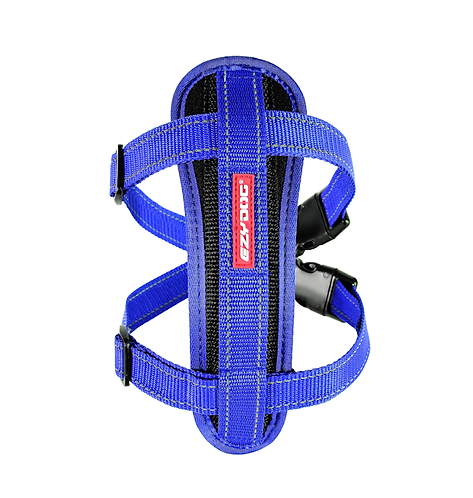 EzyDog Chest Plate Harness Blue.