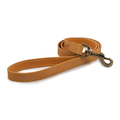 TIMBERWOLF LEATHER LEAD MUSTARD 1mX19mm
