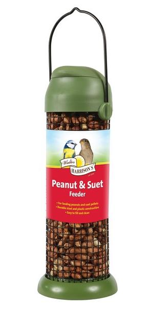 Flip Top Peanut & Suet Feeder
