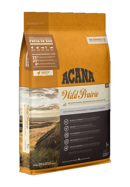 Acana Cat Wild Prairie 340g, 1.8kg, 5.4kg. Price from