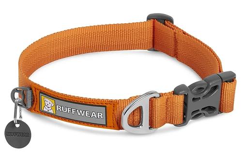 RUFFWEAR FRONT RANGE™ DOG COLLAR Campfire Orange.