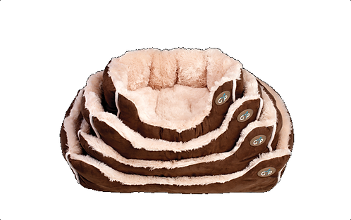 Nordic Snuggle Bed Brown.
