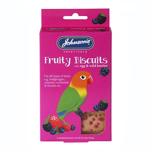 Johnson's Fruity Biscuits 35g