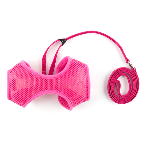 SOFT CAT HARNESS AND LEAD PINK small, medium, large. Price from