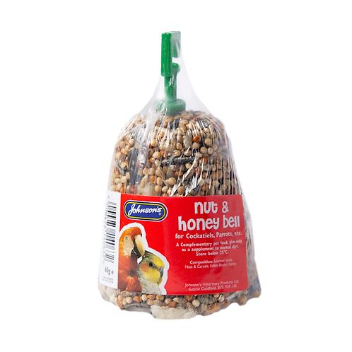 Cockatiel Nut & Honey Bell 50g