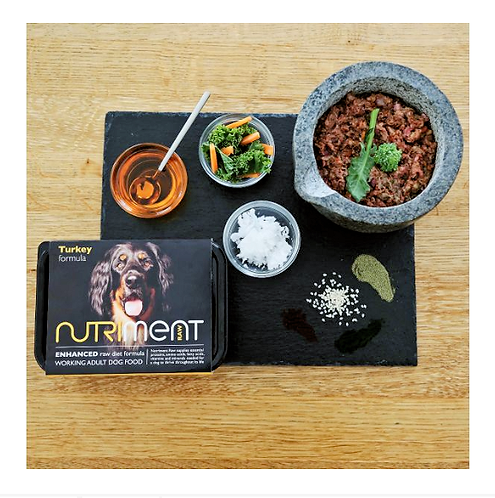 Nutriment Raw Food  Turkey 500g, 1.4kg. Price From