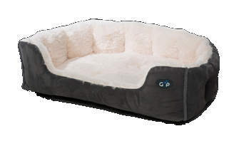 Nordic Snuggle Bed Grey.