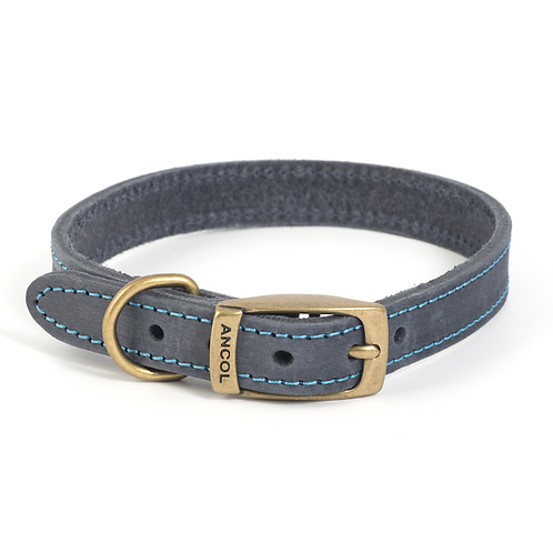 TIMBERWOLF LEATHER COLLAR BLUE. Price from
