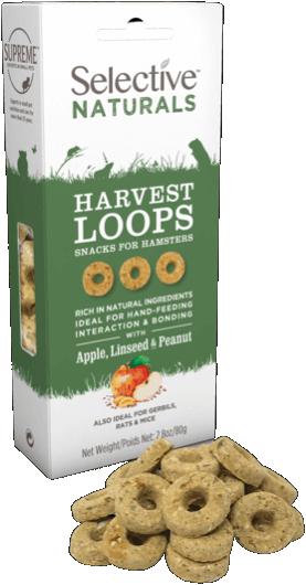 Selective Naturals Harvest Loops 80g