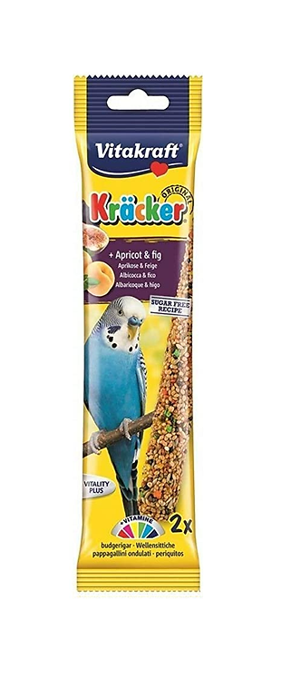 Vitakraft Budgie Kräcker Apricot & Fig. Twin Pack
