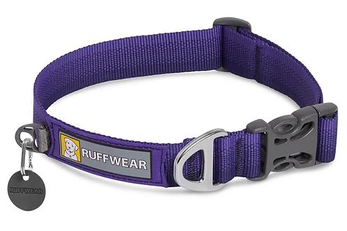 RUFFWEAR FRONT RANGE™ DOG COLLAR Huckleberry Blue.