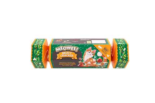 Meowee! Meaty Cat Treat Cracker
