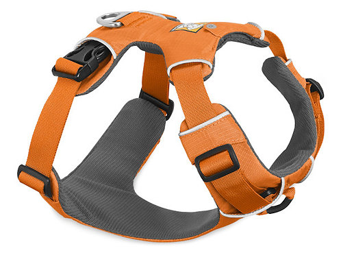 RuffWear FrontRange Dog Harness Orange Poppy