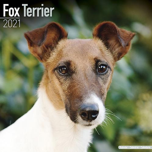 2021 Fox Terrier Calendar
