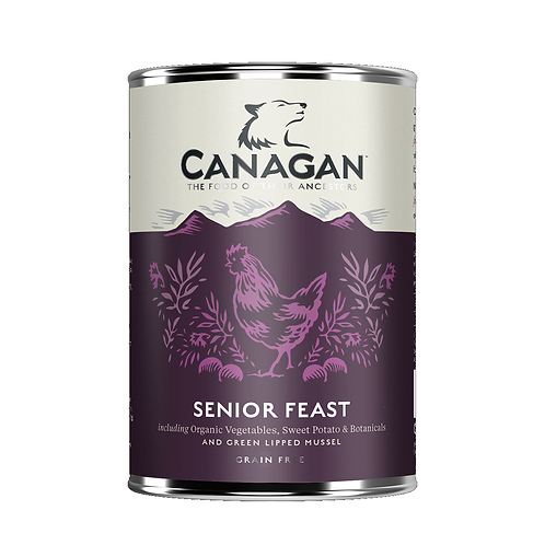 Canagan Senior Feast 400g for adult dogs