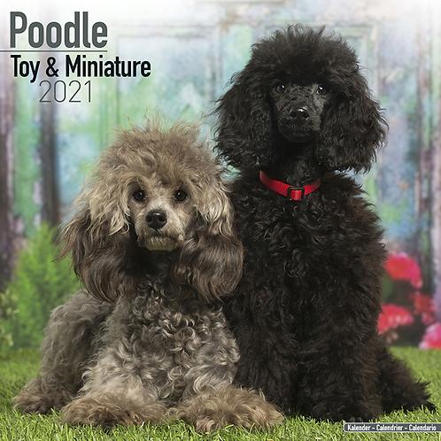 2021 Poodle Toy & Miniature Calendar