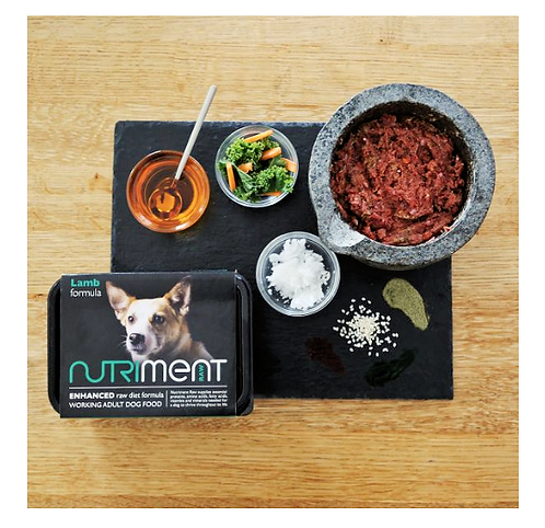 Nutriment Raw Food Lamb 500g, 1.4kg. Price From