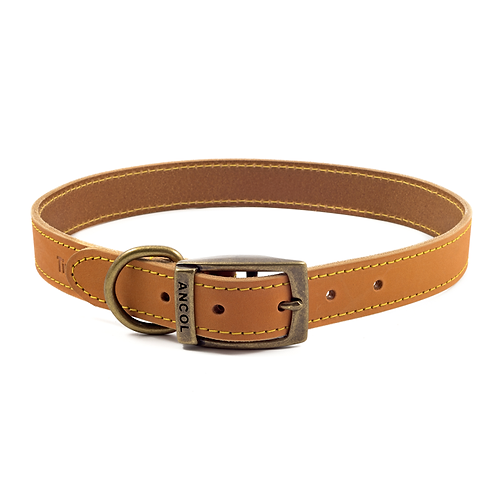 TIMBERWOLF LEATHER COLLAR MUSTARD. Price from