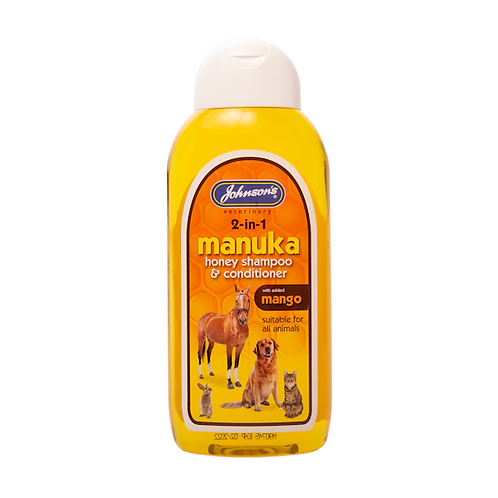 Manuka Honey Shampoo with Mango Conditioner 200ml