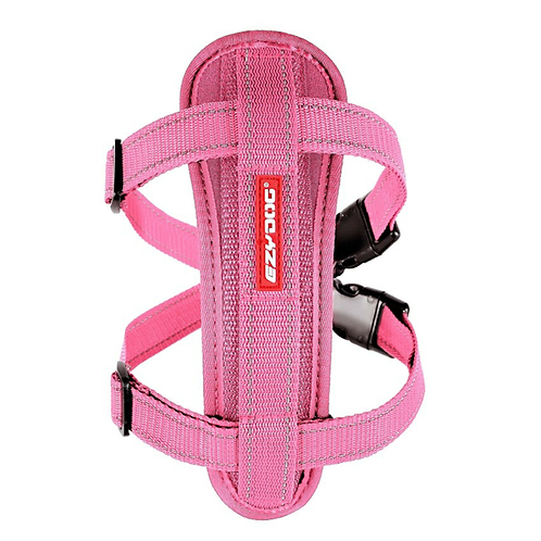 EzyDog Chest Plate Harness Pink.