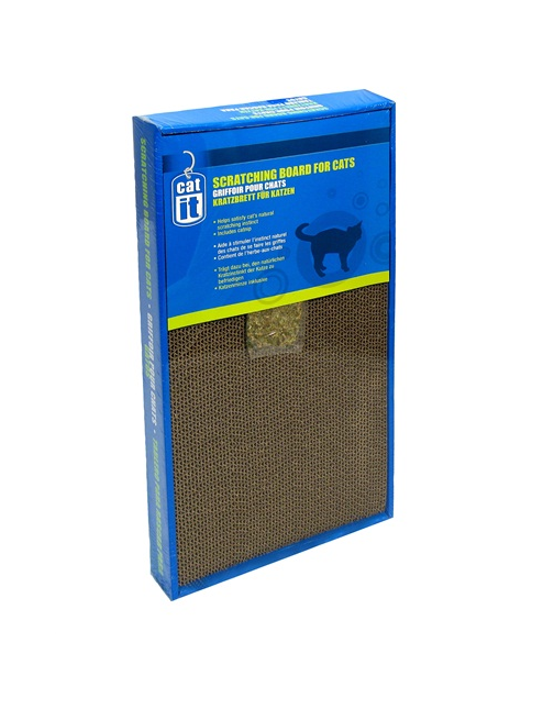 Cat Scratching Board with catnip, Large