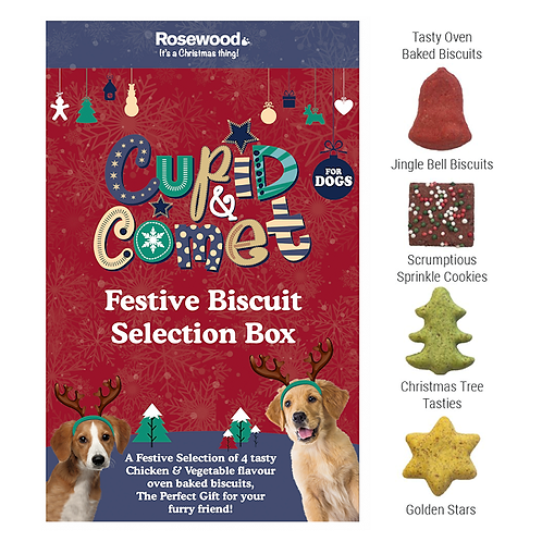 Festive Biscuit Selection Box 350g