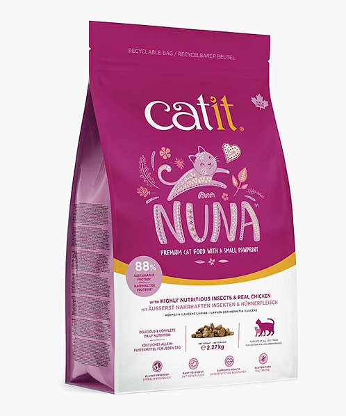 Catit Nuna Cat Food with Real Chicken
