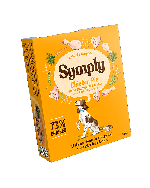 Symply Chicken Pie Adult Dog Food 395g