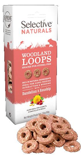 Selective Naturals Woodland Loops 80g
