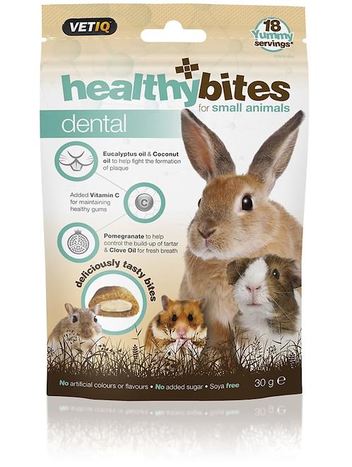 Vetiq Small Animal healthybites Dental Treats 30g