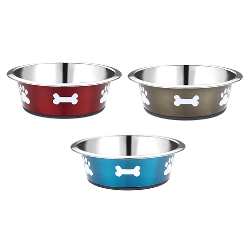 Posh Paws Stainless Steel Dog Bowls. Price from