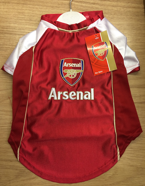 Arsenal FC Football Shirt For Dogs