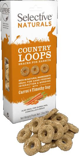 Selective Naturals Country Loops 80g