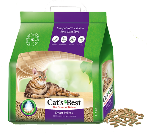 Cat's Best Smart Pellet Cat Litter 5kg, 10kg. Price from