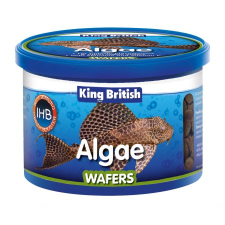 King British Algae Wafers 40g, 100g. Price from