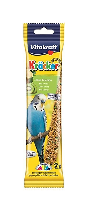 Vitakraft Budgie Kräcker Kiwi & Lemon. Twin Pack