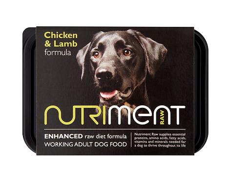 Nutriment Raw Food Chicken & Lamb 500g