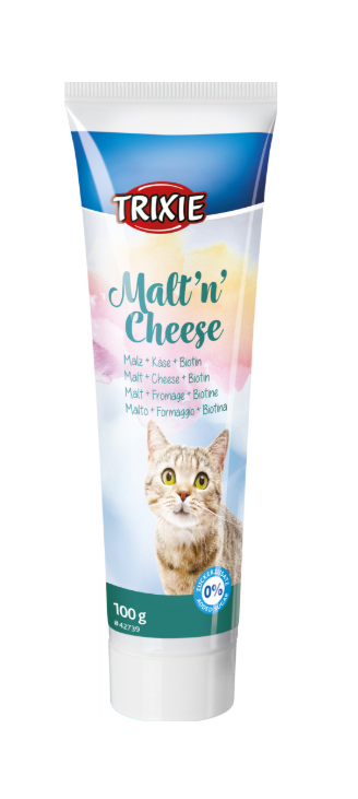 Trixie Malt'n'Cheese Anti-Hairball Paste 100g