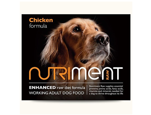 Nutriment Raw Food Chicken 500g, 1.4kg. Price From