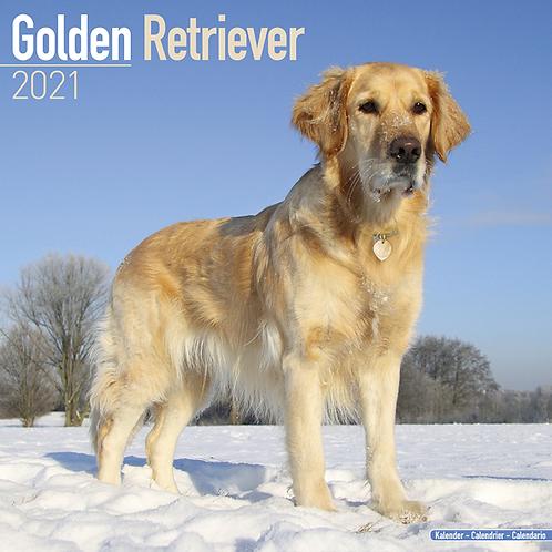 2021 Golden Retriever Calendar