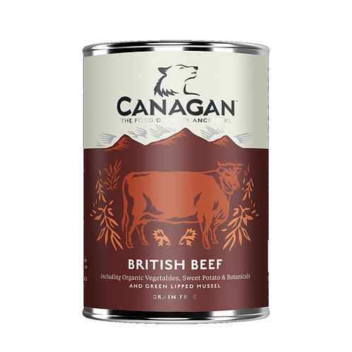 Canagan British Beef 400g for adult dogs