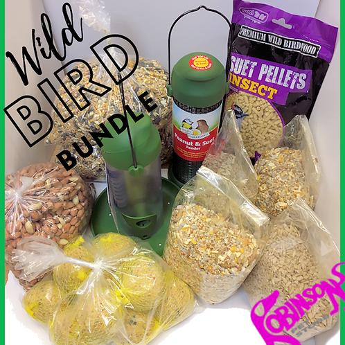 Wild Bird Feeder Bundle